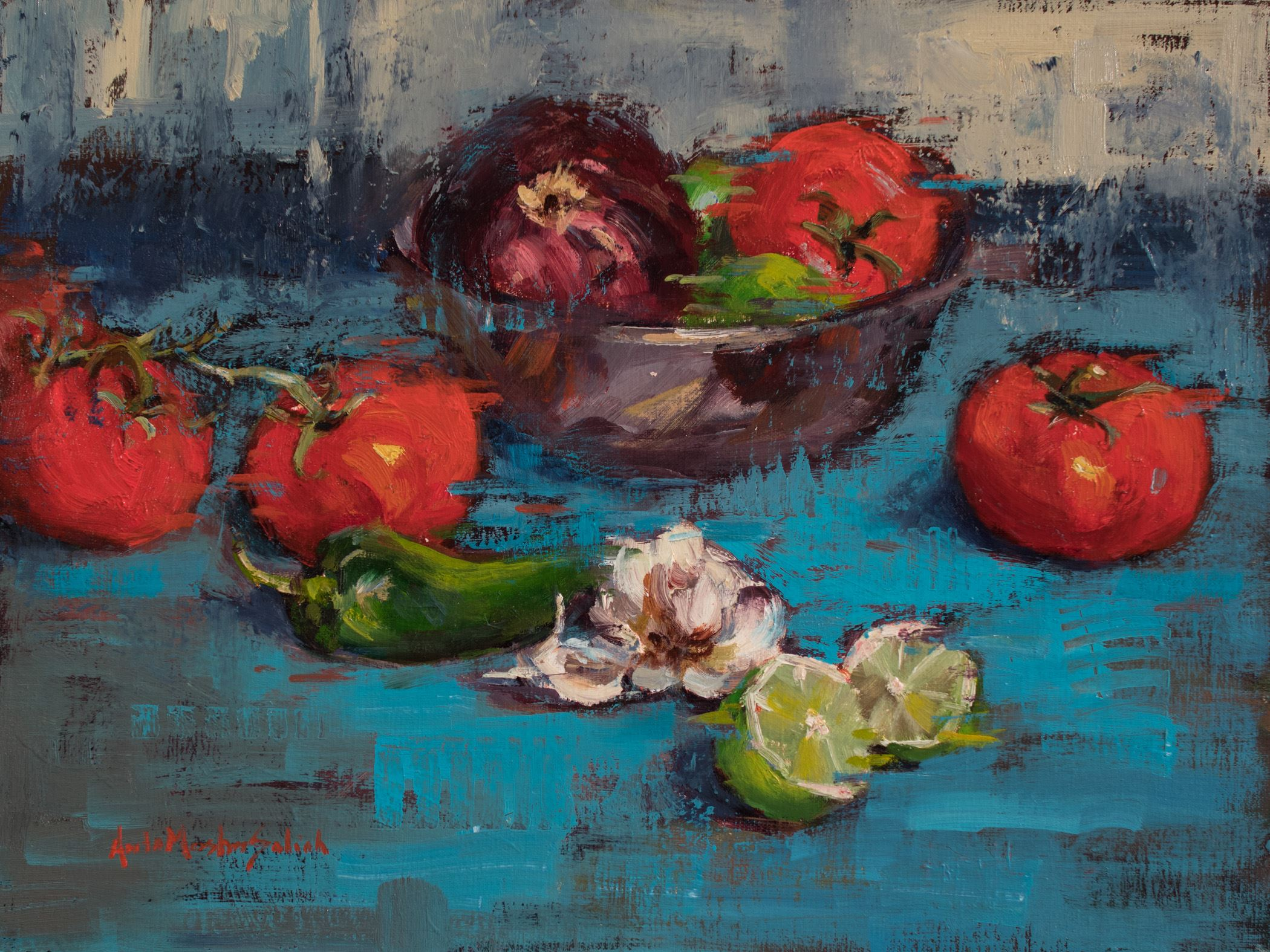 Painting the Colorful and Expressive Still LIfe